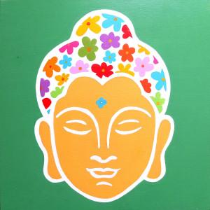 Buddha de las flores