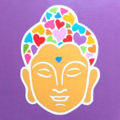 Buddha color 3 pezzi