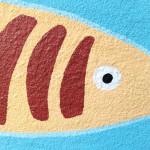 pesce particolare giallo