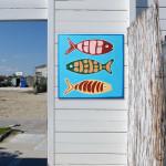 pesci in spiaggia