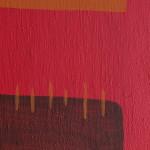 particolare righe rosso