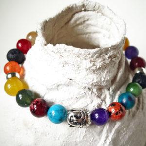 Pietre, colore e Buddha